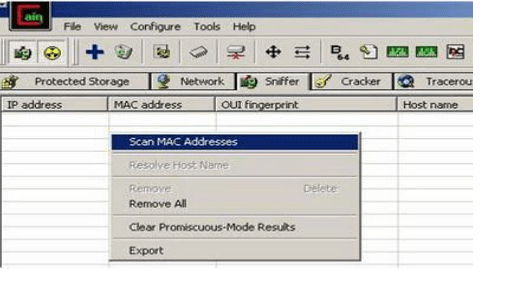 Cain and Abel password recovery_Screen5