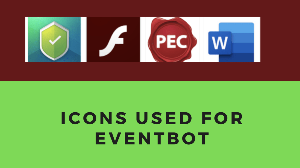 EventBot Icons 1 1024x576 - How to detect EventBot Malware? A Quick Guide 2020